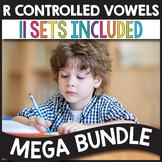 R Controlled Vowels Worksheets MEGA BUNDLE