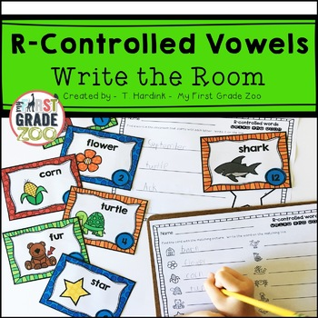R-Controlled Vowels - Write the Room