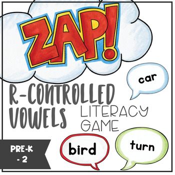 R-Controlled Vowels - ZAP literacy game