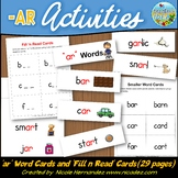 Word Wall Cards {R Controlled Vowels} - 'ar' Word Cards and More