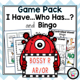 R-Controlled Vowels AR & OR I Have Who Has and Bingo Games