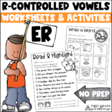 R-Controlled Vowels er Word Work