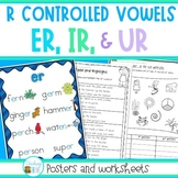 R Controlled Vowels - er, ir and ur