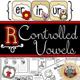 R-Controlled Vowels er ir ur: Word Work, Independent Work, Games, Student Reader