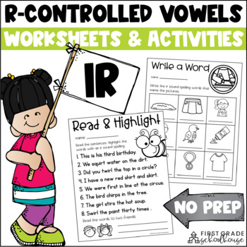 R-Controlled Vowels ir