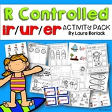 R Controlled Vowels ir/ur/er Activity Pack