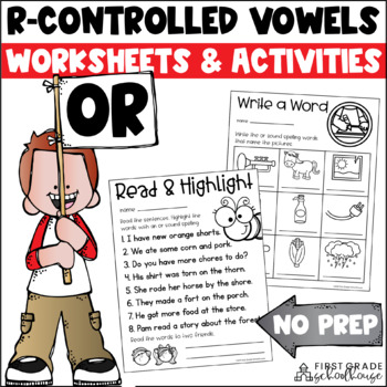 R-Controlled Vowels or Word Work