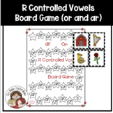 R Controlled Vowels or and ar Board Game