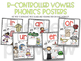 R-Controlled Vowels or ir er ur ar Phonics Print and Go Activities