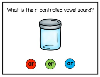R-Controlled Vowels Digital Interactive Fun