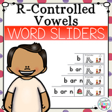 R-Controlled Vowels Segmenting and Blending Cards - Word Sliders