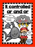 Control r -ar and -or Word Work! - No Prep!