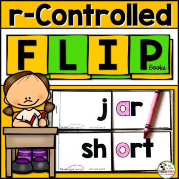 R-Controlled {ar and or} Word Family FLIP Books