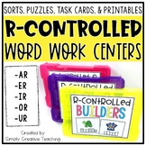 R-Controlled (ar, er, ir, or, ur) Word Work Centers & Activities