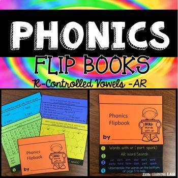 Journeys The Signmaker's Assistant | R-Controlled Vowels AR | Phonics Flip Book