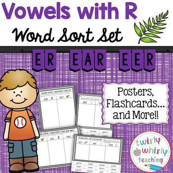 R-Controlled er Word Sort Set