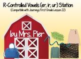 R-Controlled (er, ir, ur) Station (Compatible w/ Journeys