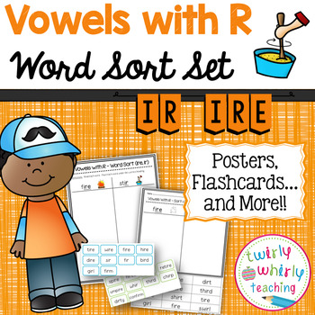 R-Controlled ir Word Sort Set