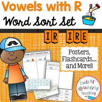 R-Controlled ir Word Sort Set