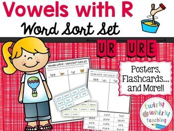 R-Controlled ur Word Sort Set