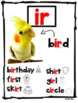 R Controlled vowel Posters ( Updated version)