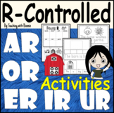 R Controlled Vowels: Writing Sentences: Word/Picture Matching Game: Engaging