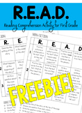 R.E.A.D. Comprehension Activity for First Grade
