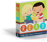 Learn to Read: Complete Kindergarten Curriculum and Interactive Notebook