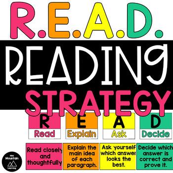 R.E.A.D. Reading Strategy