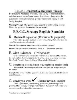 R.E.C.C. strategy (an alternative to R.A.C.E)