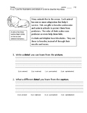 Common Assessment R.I.3.7  illustrations and details descr
