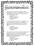 RI.3.8 or RI.4.5 Text Structures Mini Assessment