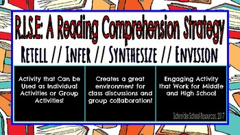 R.I.S.E: A Reading Comprehension Strategy for Middle and High School