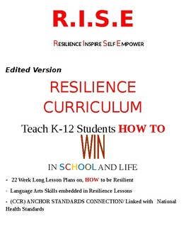 R.I.S.E: Resilience, Inspire, Self-Empower,  Resilience Curriculum