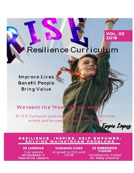 R.I.S.E: Resilience, Inspire, Self-Empower      Resilience Curriculum