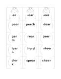 R-Influenced Vowel Sort -er, -ear, -eer