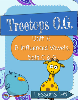 R-Influenced Vowels and Soft C/G: Orton-Gillingham Complete Curriculum Unit 7