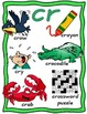 R Initial Blends Activity Set {dr, cr, gr, br, tr, fr}