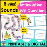 R Initial Sound Articulation Language Activities | Speech