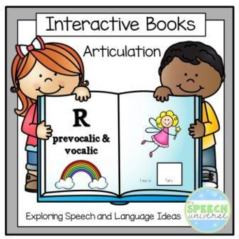 Articulation Interactive Books: R