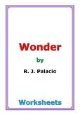 "R. J. Palacio ""Wonder"" worksheets"