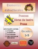 RL 4.5 Poetry, Drama, Prose bundle in Spanish