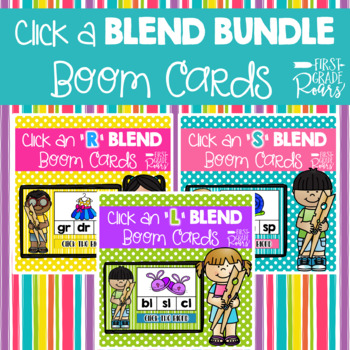 BLEND BUNDLE DIGITAL Task BOOM CARDS
