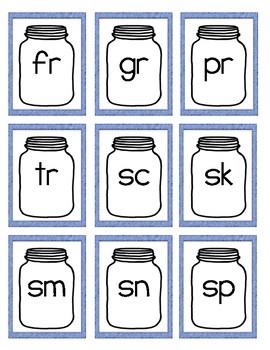 R,L,S Blends Practice