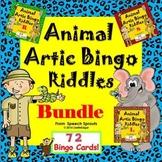 R, L and S Articulation Bingo Riddles Game Bundle