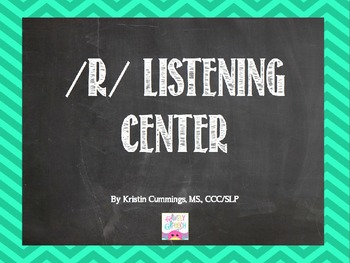R Listening Center Power Point