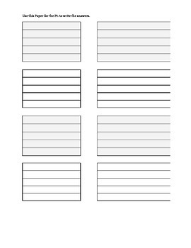 R MCA CVA Writing and Following Multi-Step Commands Activity