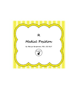 R Medial Position Pictures/Cards