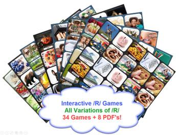 R Mega Bundle Games- All Variations of /R/