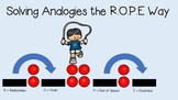 R.O.P.E. Strategy for Solving Analogies